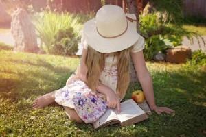 Girl reading. jpeg.