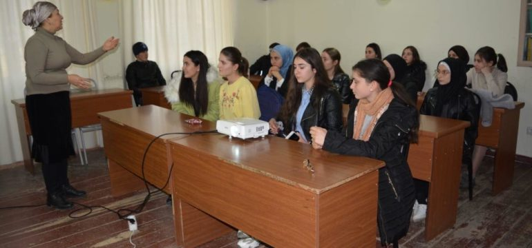 "Closing Event of the Project ""Young Journalists Club"": by Natela kavtarashvili"