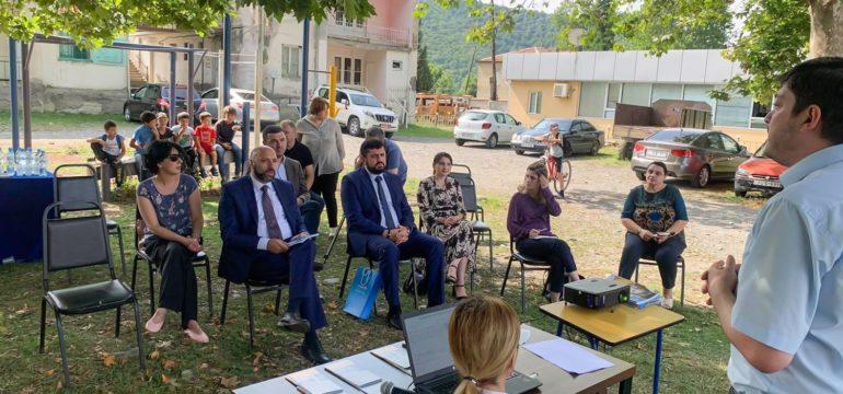 Official visit of UNICEF in Pankisi: by Sieda Kavtarashvili