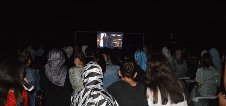 The First Open-air Film Screening in Pankisi: by Natia Kavtarashvili