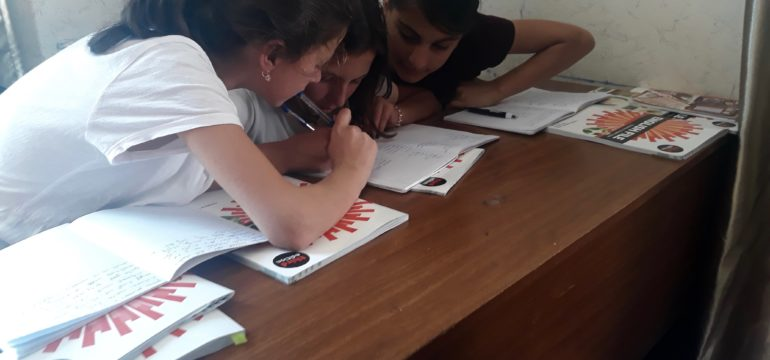 My life As a Teacher in Pankisi  Valley: by Asmati Achishvili